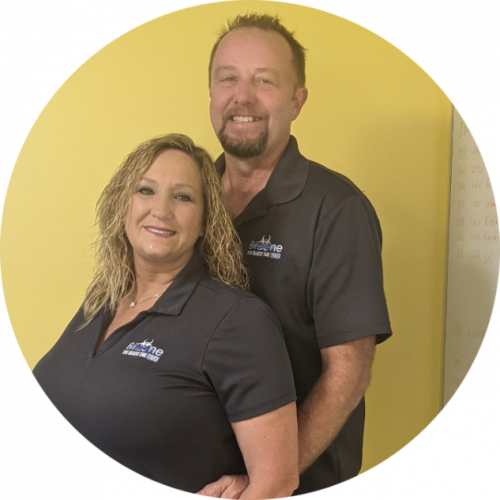 crime scene clean up company owners Ginger and Jamie Akemon
